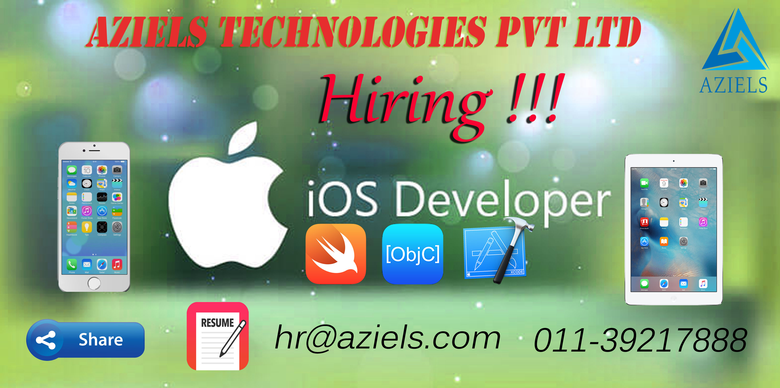 Aziels-Technolgies-hiring-Ios-Developers